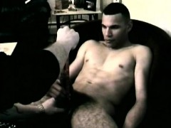 Amateur Straight Boy Dino Strokes His 9 Inches