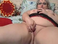 large-grandmother-masturbating