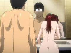 bigboobs japanese anime mom fucking bigcock in the restroom WWW.ONSEXO.COM