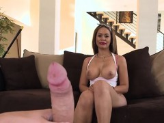 Nasty Maid Samantha Bell Plays With Big Cock Of Boss
