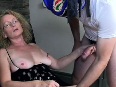 cougar-wife-cathy-takes-creampie-from-masked-man
