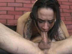 Latin Whore Ava Kelly Chokes From Deepthroating Big Cock