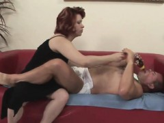Naughty Mature Bitch Bangs An Older Stud