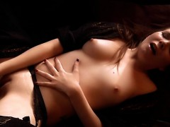 French Teen In Solo With Toys