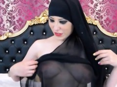 beauty arab woman webcam teasing