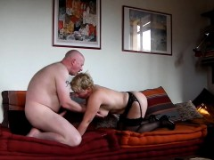 49 Yo Milf Fucks For My Cum On Her Ass