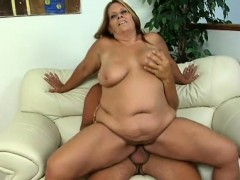 Curvaceous Cougar Leighann Gets Her Tight Snatch Pumped Full Of Cock