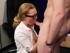 naughty model gets cumshot on her face swallowing all the cu