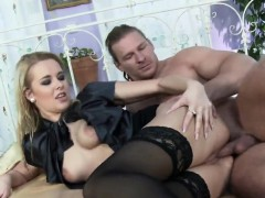 Blown Away Idol In Lingerie Is Geeting Peed On And Poked