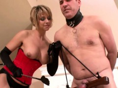 milf-enjoys-torturing-her-male-slave