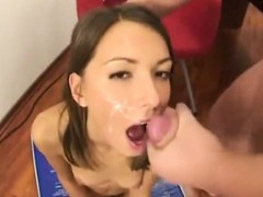 college couple backdoor fuck in class room
