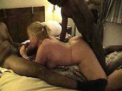 Thick Blonde Gangbanged By Bbc Par Sabra From 1fuckdatecom