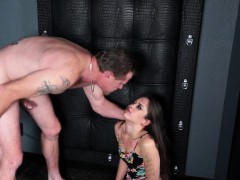 Sexy chick Ziggy Star craving for large massive dick