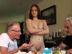 Teen Anal Action Minnie Manga Eats Breakfast With John And D