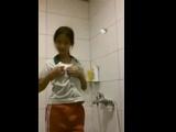 18yo Chinese Girl Striptease In Shower - FreeFetishTVcom