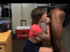 Huge Boob Harlow Harrison Sucking Off Great Big Black Dong