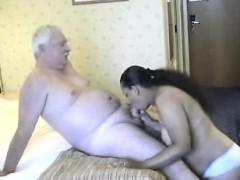 Old man having sex black mature Pamella from 1fuckdatecom