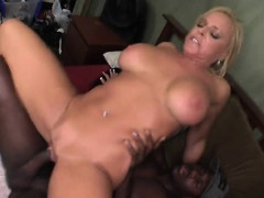 Busty Blonde Mom Alexis Golden Bounces