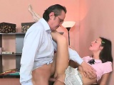 Beauty is offering her vagina for teacher's lusty enjoyment