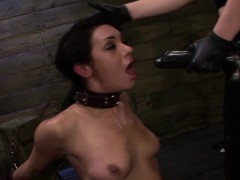 restrained-sub-doggystyled-in-rough-threesome