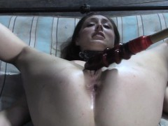 cocksucking-slave-gets-ass-and-pussy-punished