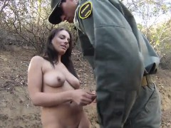 Faketaxi Cop Very first Time Kayla West Was Caught Lusty Patrool