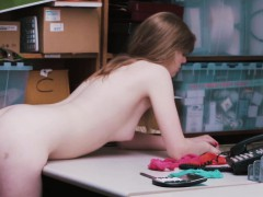 Pretty Dolly Leigh Bangs By A Security Officer Online