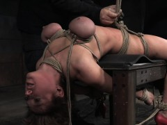 busty-shorthair-nympho-roped-and-punished