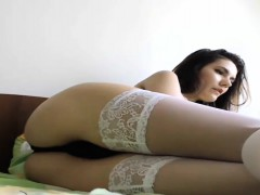 hot slut with fine ass gets a nice orgasm