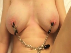 mature bangs with tit clamps socorro from 1fuckdatecom