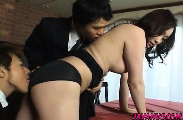 無垢のMikuは2人の人を彼女の非常に楽しい時にファックさせる-3245782-ポルノ屋