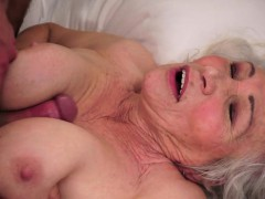 Hairy Mature Titfucked After Receiving Oral