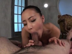 Ren Azumi Mind Blowing Oral With Cock Riding Scenes