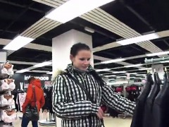 luscious czech cutie gets tempted in the mall and nailed