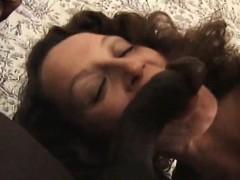 Slut In Her Sixties Fucks Black Cock Up Her Ass
