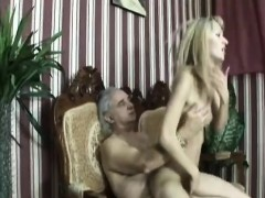 Blonde Teen Caring Handicapped Man Fuck Riding