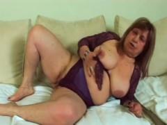 Fat Granny Dominika Fucking Younger Dong Big Tits