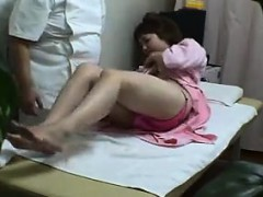 Asian Teen Goes To The Doctors For A Complete Nasty Physica