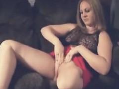 One-legged Woman Pleases Herself
