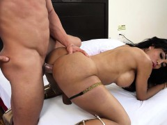 Big dicked Shemale Karla Carrillo Fucked