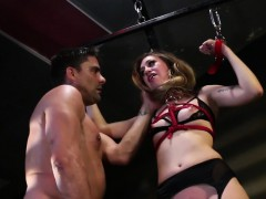 bound-bdsm-sub-fingered-while-in-stockings