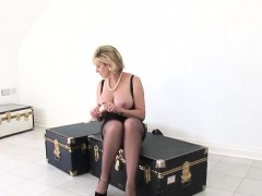 Unfaithful British Milf Gill Ellis Presents Her Oversized Ti