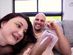jmac-screws-hailey-shaved-stretched-pussy
