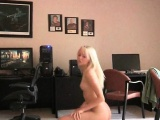 Sierra sexy petite teen blonde dance nude