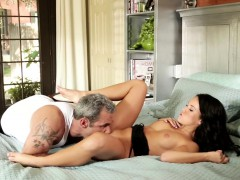 lovely stepdaughter fucked in various poses
