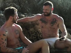 Muscle Gays Outdoor And Cumshot