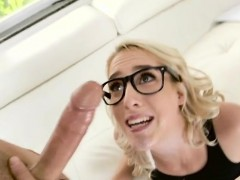 Teen Cadence Lux Gets Her Mouth And Pussy Drilled
