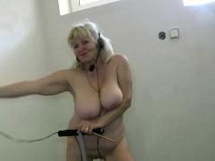 Oldnanny Amateur Blonde Granny Lesbian