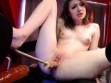 Adorable Camgirl On Cam Masturbating
