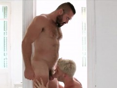 sex-starved-daddy-receives-a-blowjob-from-his-blonde-boy-toy